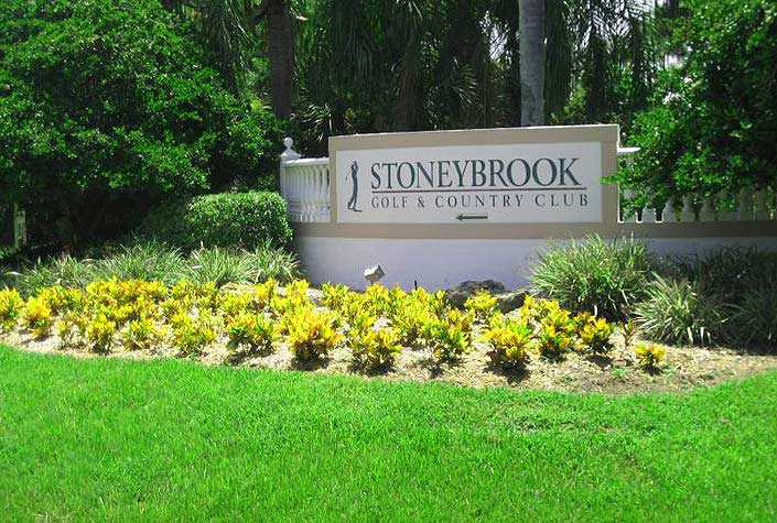 Stoneybrook Golf And Country Club In Palmer Ranch - Sarasota, Fl. - Front Entrance