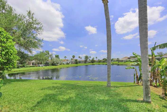 Wellington Chase Homes In Palmer Ranch - Sarasota, Fl. - Lake Views