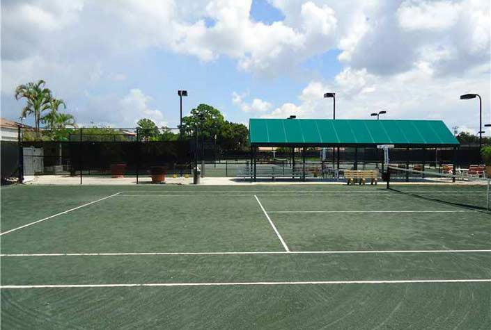 Misty Oaks Homes Sarasota Fl. - Tennis Courts