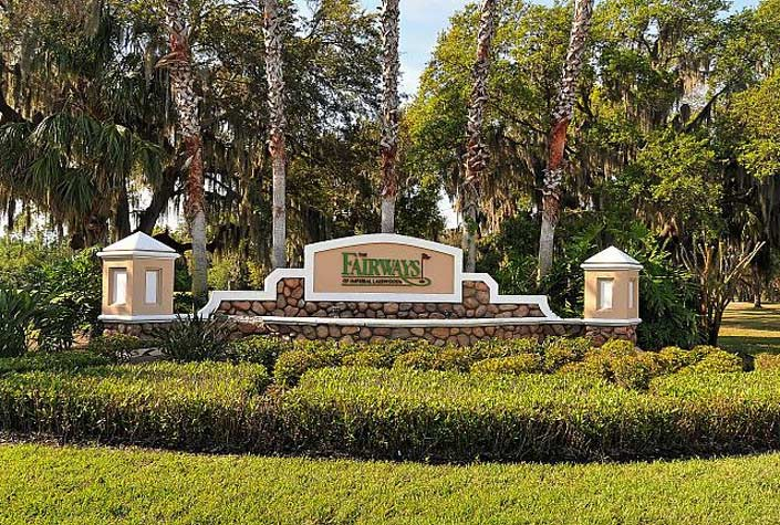 Fairways At Imperial Lakewoods - Entrance Sign