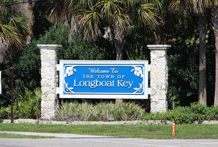 Longboat Key Real Estate - Entrance Sign