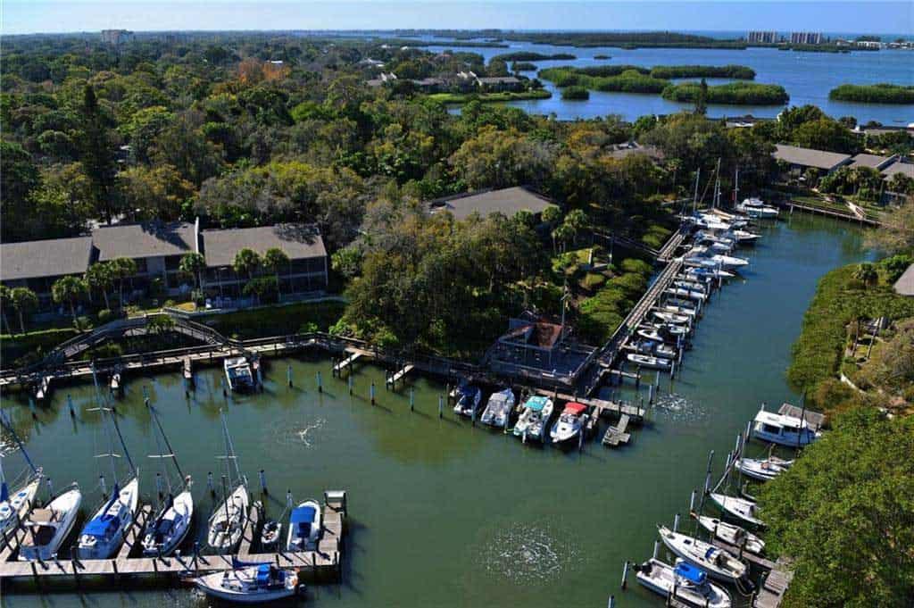 Pelican Cove Condos in Sarasota, FL. - Marina