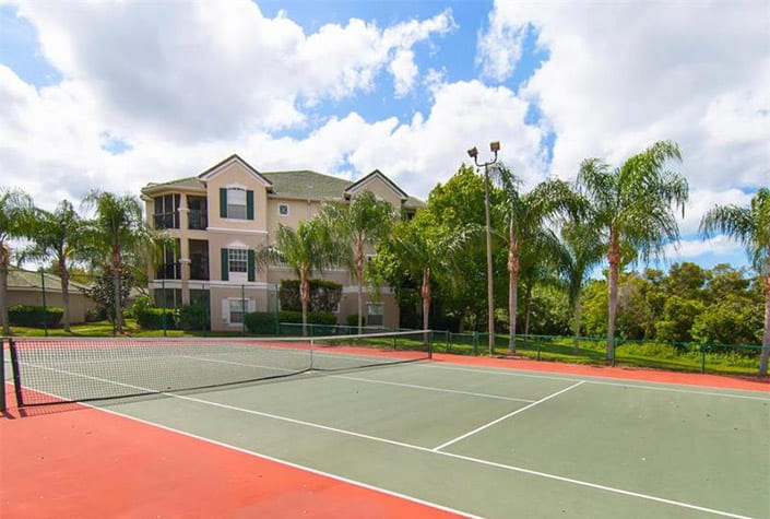 Serenade Condos - Palmer Ranch, FL. - Tennis Court