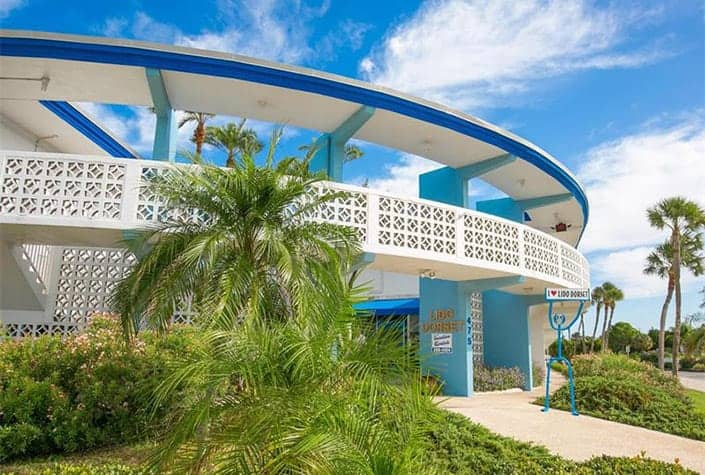 Lido Dorset condos for sale - Lido Key - Sarasota, Fl.