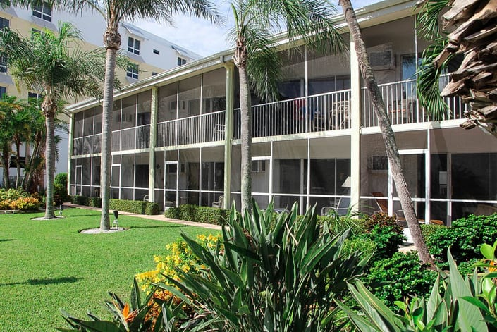Crescent Towers condos for sale in Siesta Key, FL.