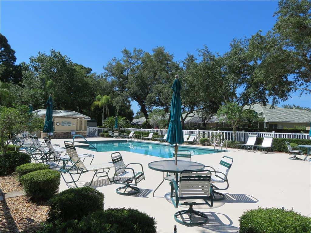 Palm Aire homes in Sarasota, FL. - Pool