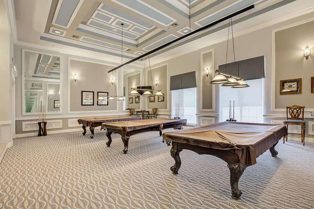 Cascades homes in Sarasota, FL - Billiards Room