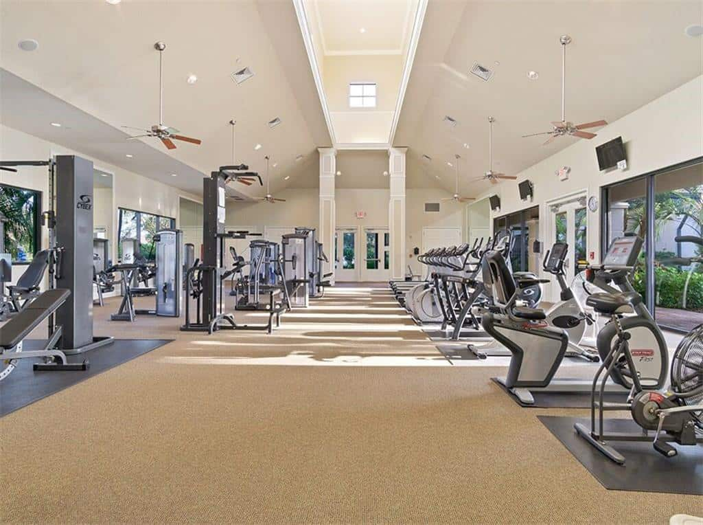 Cypress Falls homes in North Port FL. - Fitness Center