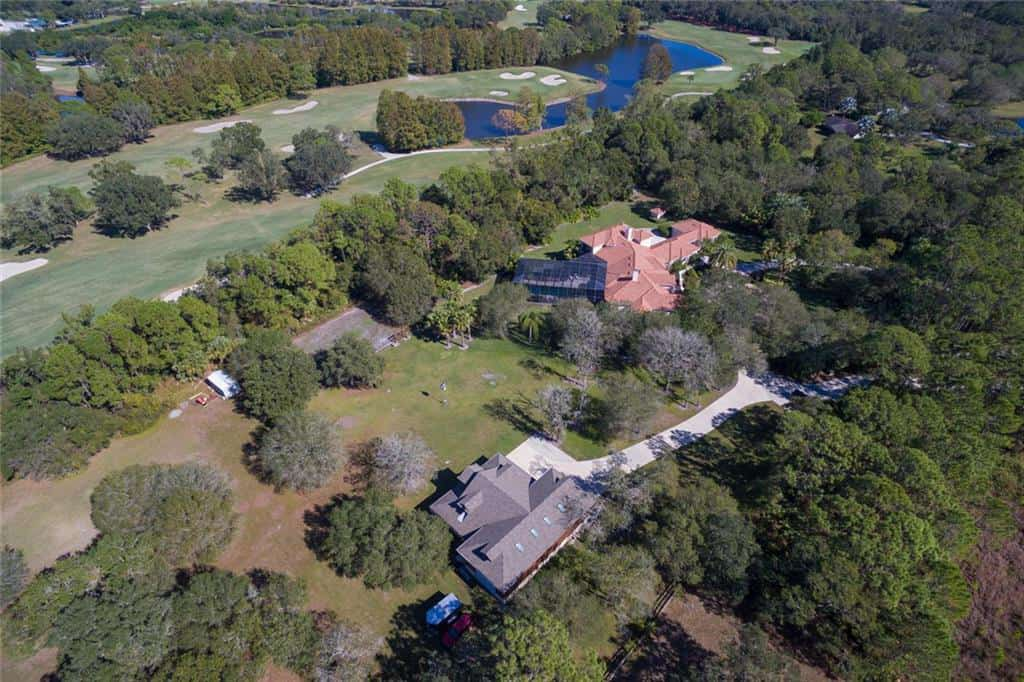 Gator Creek homes for sale in Sarasota, FL. - Aerial