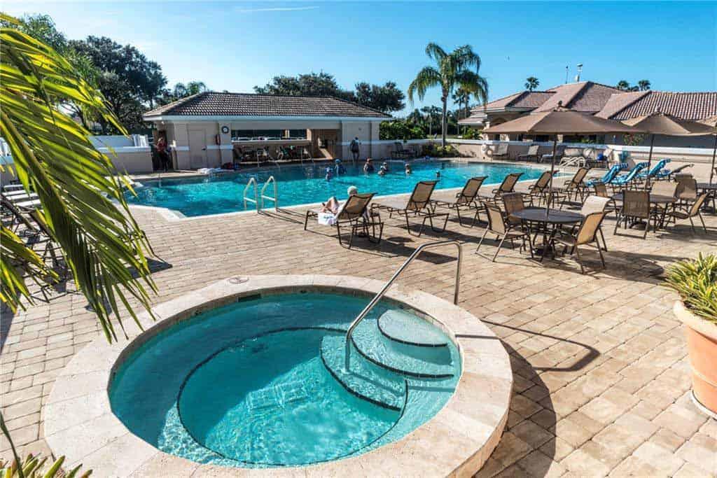 Heritage Oaks homes in Sarasota, FL. - Pool / Spa