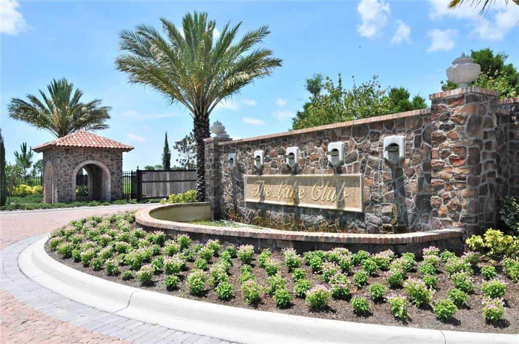 Lakewood Ranch Homes - The Lake Club Sign