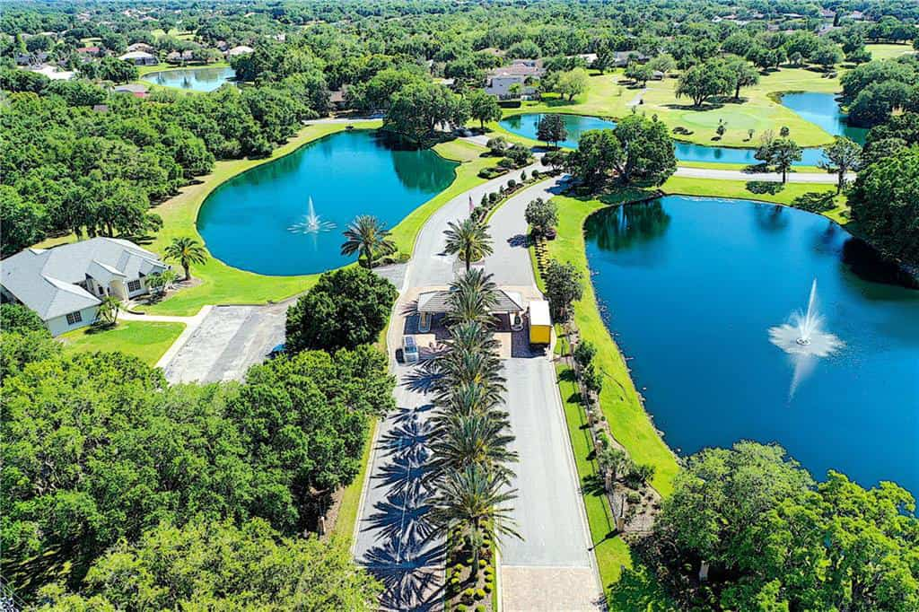River Wilderness homes in Parrish, FL. - Gated Entry
