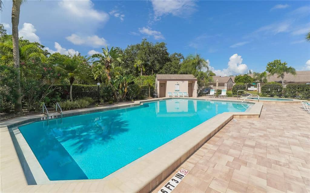 Clubside Villas At Palm Aire in Sarasota, FL. - Pool