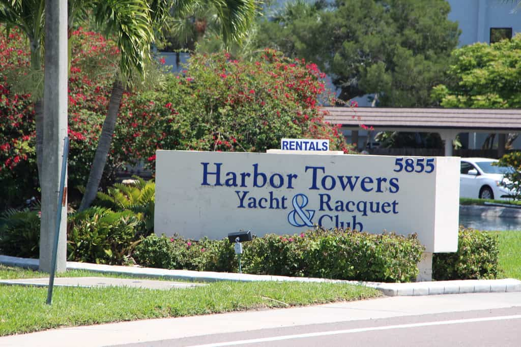Harbor Towers Condos For Sale in Siesta Key, Sarasota, FL.