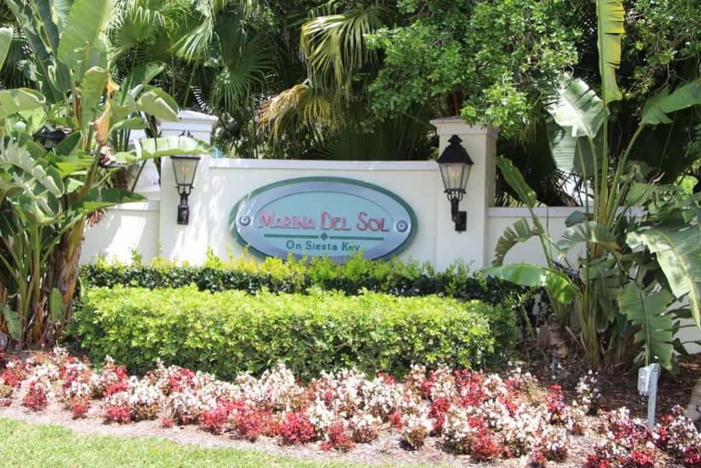 Marina Del Sol Condos For Sale in Siesta Key, FL.
